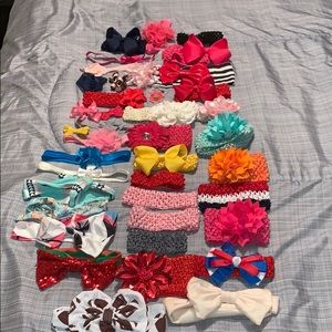 Other - 😍40 piece Bow/Headband Bundle!!